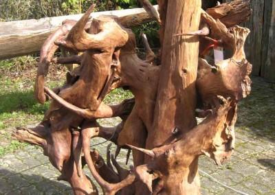 Wurzelskulptur
