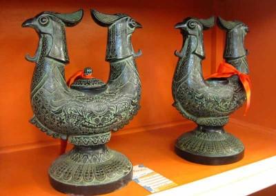 Vogel-Vase