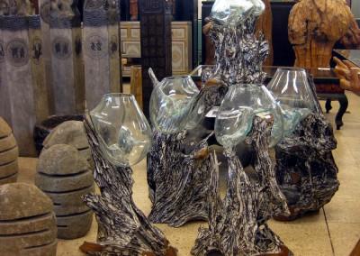 Mundgeblasene Vasen