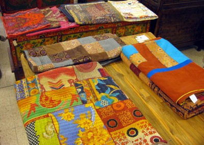 Decken, Überwürfe, Tischläufer