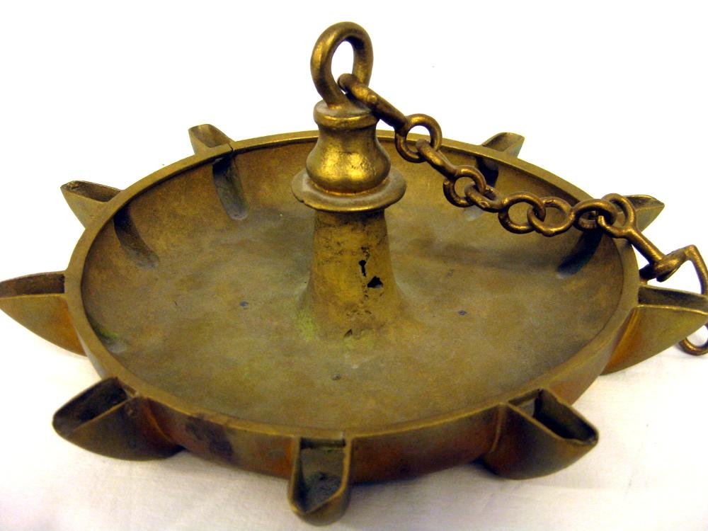 Antike Öllampe