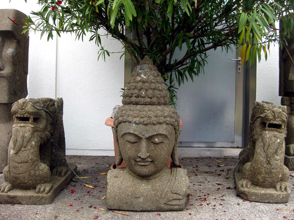 Buddhakopf