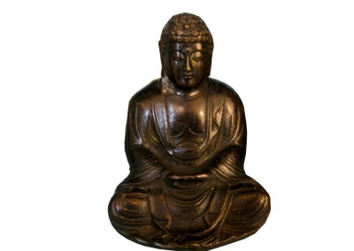 Kleiner Buddha aus Bronze, China