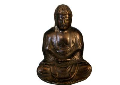 Kleiner Buddha aus Bronze, China