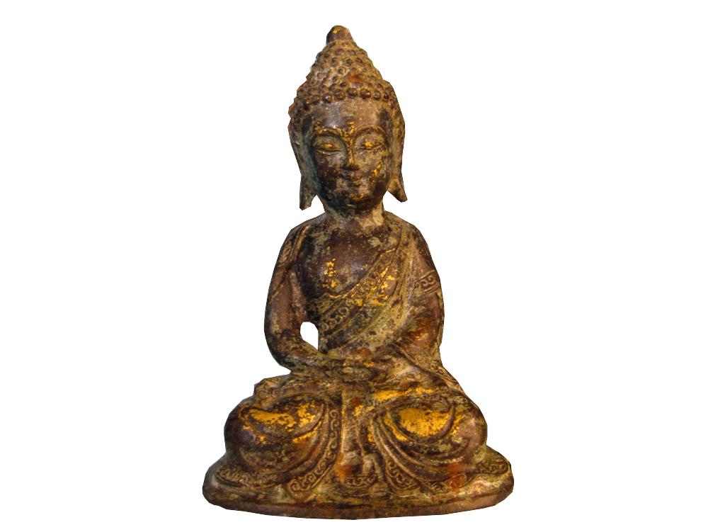 Buddha aus Metall, China