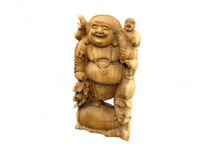 Happy Buddha, Vollholz