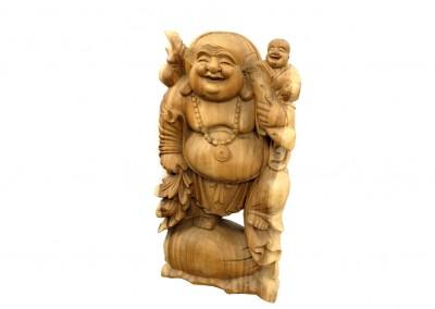 Happy Buddha, Vollholz