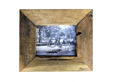 Fotorahmen, recycled Teak