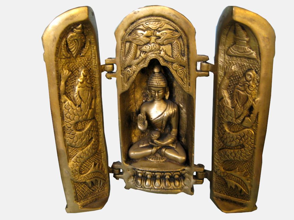 Buddha / Schrein