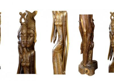 Königspaar Rama & Sita