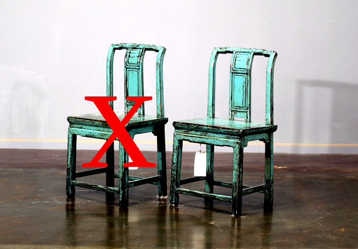Antiker chinesischer Sessel