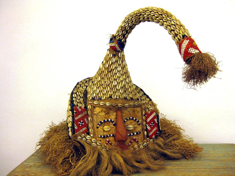 Elefanten-Maske aus Zaire