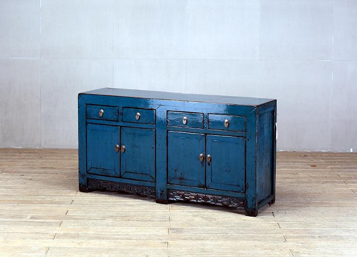 Kommode China Royal Blue