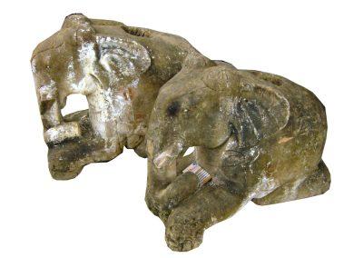 Antike Elefanten Sandstein