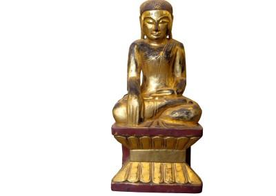Goldener Buddha Burma