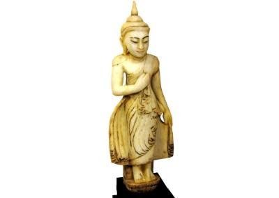Stehender Marmor Buddha Burma