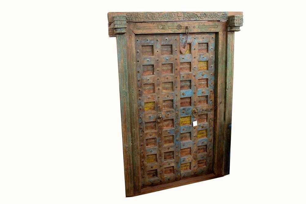 Antike Tür aus Indien