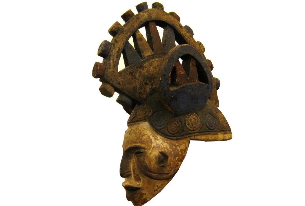 Helm-Maske