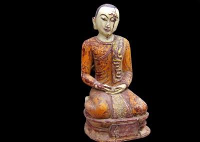 Alter Tempelmönch, Burma