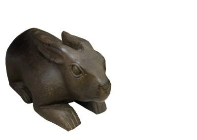 Hase aus Stein