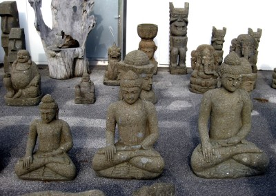 Buddha, frostsicherer Lavastein