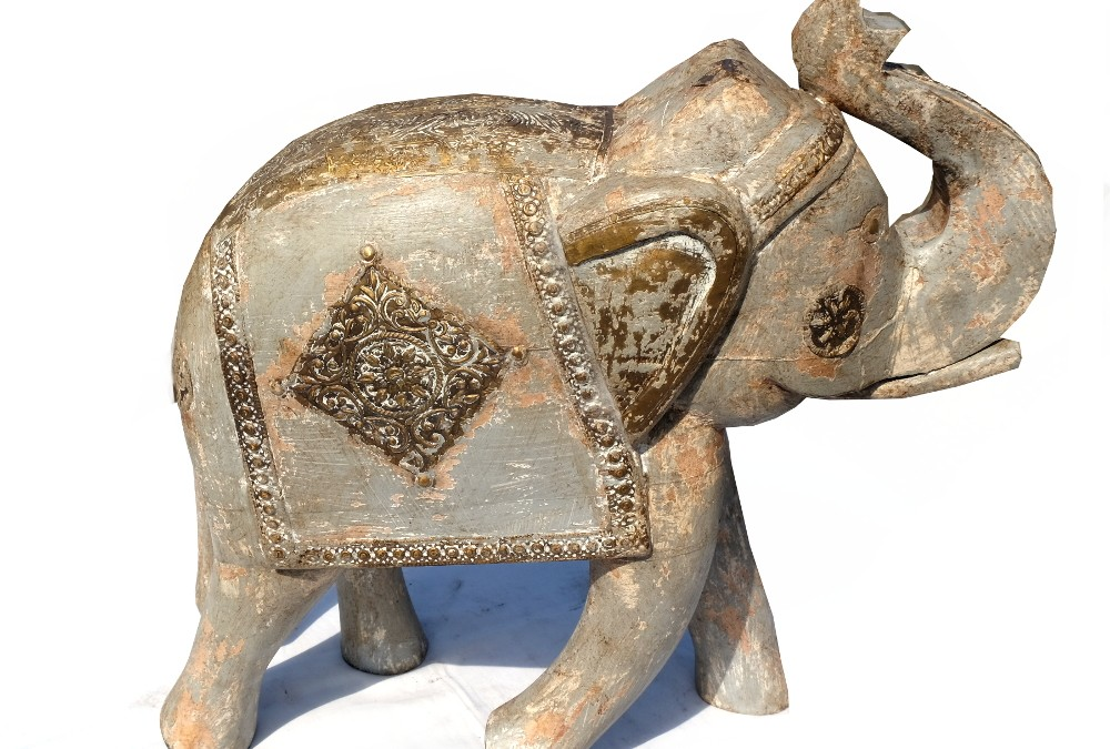 Grauer Elefant Indien