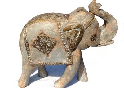 Grosser Grauer Elefant Indien