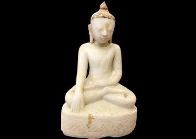 Alter Marmorbuddha