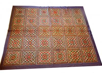 Tagesdecke oder Wandteppich XXL, Indien
