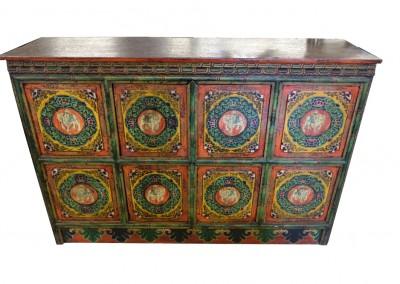 Tibetische Elefanten-Kommode
