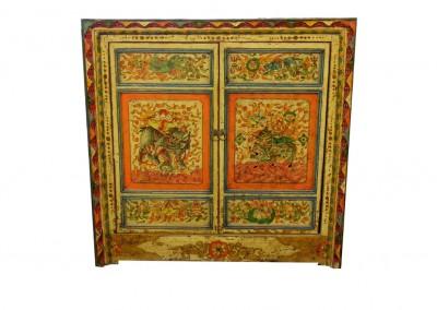 Tibetischer Nischenschrank