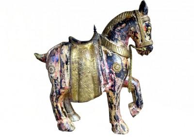 Gesatteltes Pferd