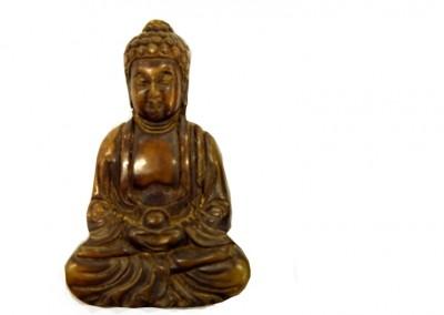 Buddha aus Edelstein