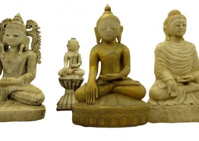 Antike Marmor Buddhas