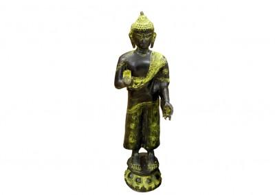Stehender Buddha, Bronze