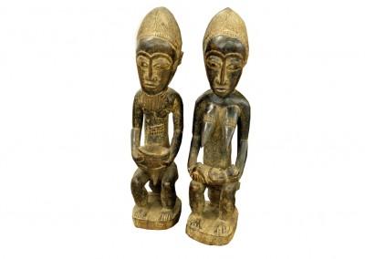 Altes Häuptlingspaar, Elfenbeinküste