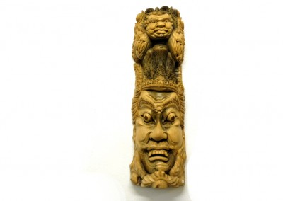 Maske aus Hibiskusholz