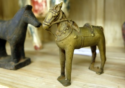 Pferd aus Messing