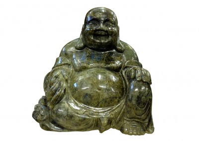 Happy Buddha, Labradorit