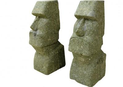 Frostsichere Moai, 50 cm