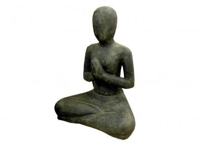 Praying Yoga Lady