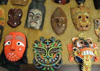 Masken aus Nepal