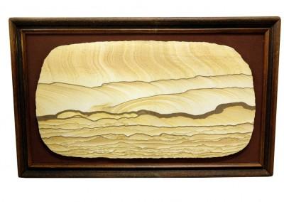 Versteinertes Sandbild aus Utah
