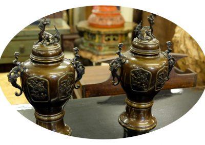 Antike Vasen, Bronze