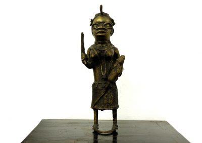 Bronzefigur aus Benin