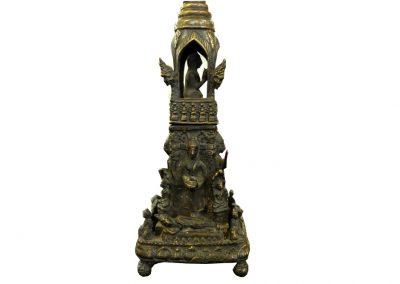 Stupa, Buddhatempel