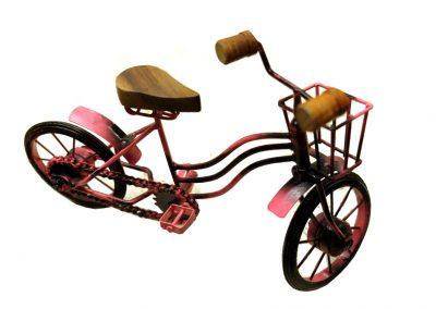 Modell Rosa Fahrrad