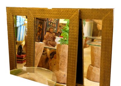 Spiegel vergoldet