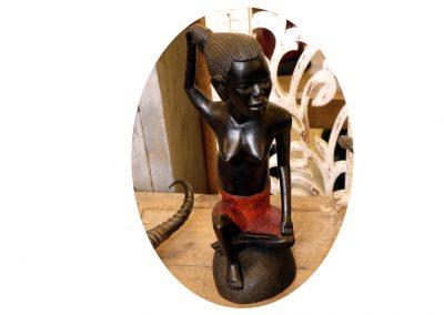 Ebony, Afrika