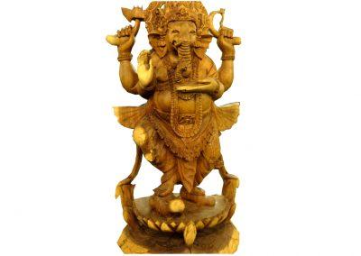 Ganesha, handgeschnitzt